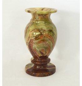 Vase Jorinde aus Onyx Marmor ca. 8x15 cm