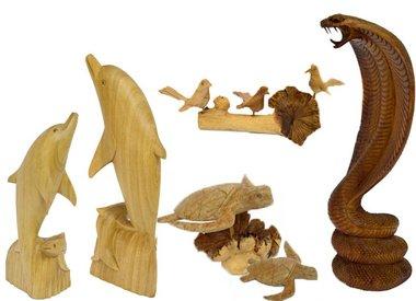 Dekoartikel aus Holz