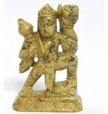 Hanuman Speckstein Indien ca. 12 cm