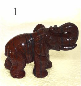 Elefant aus Breckzienjaspis