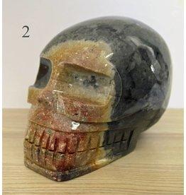 Schädel aus Speckstein gross