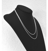 Halsketten aus 925er Silber medium