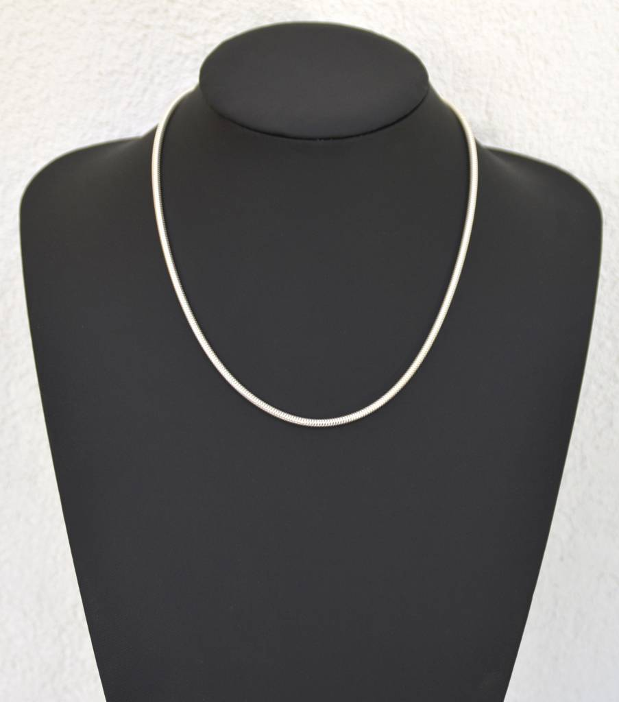 Halsketten aus 925er Silber big