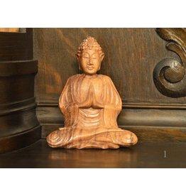 buddhistischer Mönch aus Suar Holz