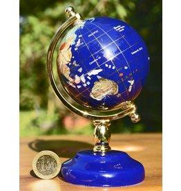 Globus aus Lapislazuli