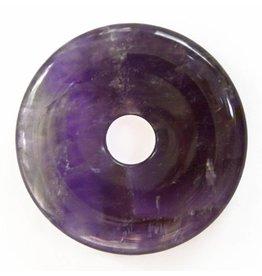 Amethyst Donut 40 mm