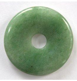 Aventurin Donut 50 mm grün