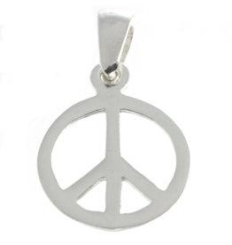 Peace Silberanhänger