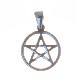 Pentagramm Silberanhänger