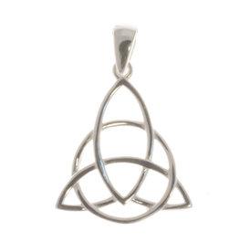 Keltischer Knoten Silberanhänger
