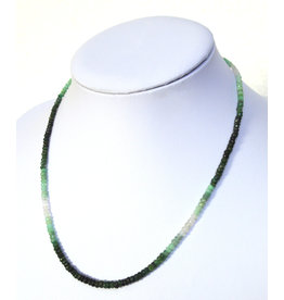 Smaragd Kugelkette facettiert