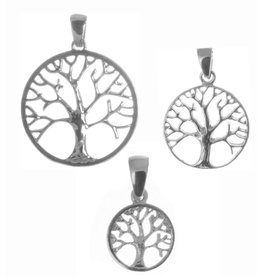 Baum des Lebens Silberanhänger ab