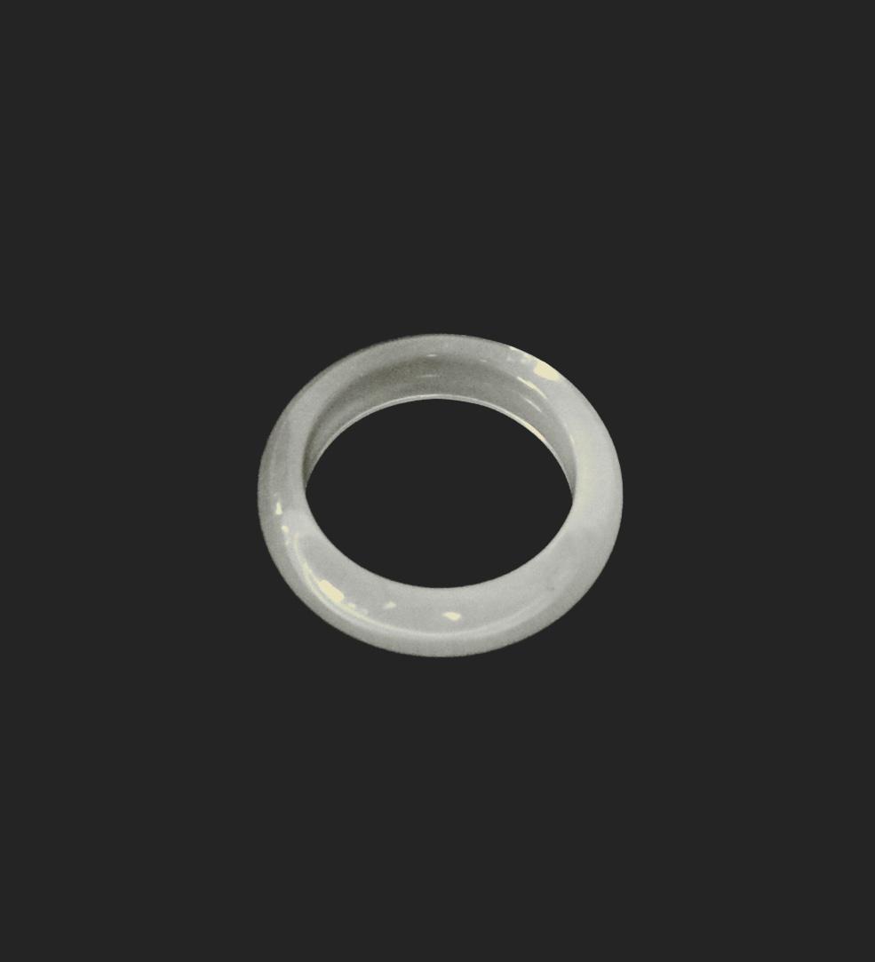 Ring Opalglas - massiver Steinring