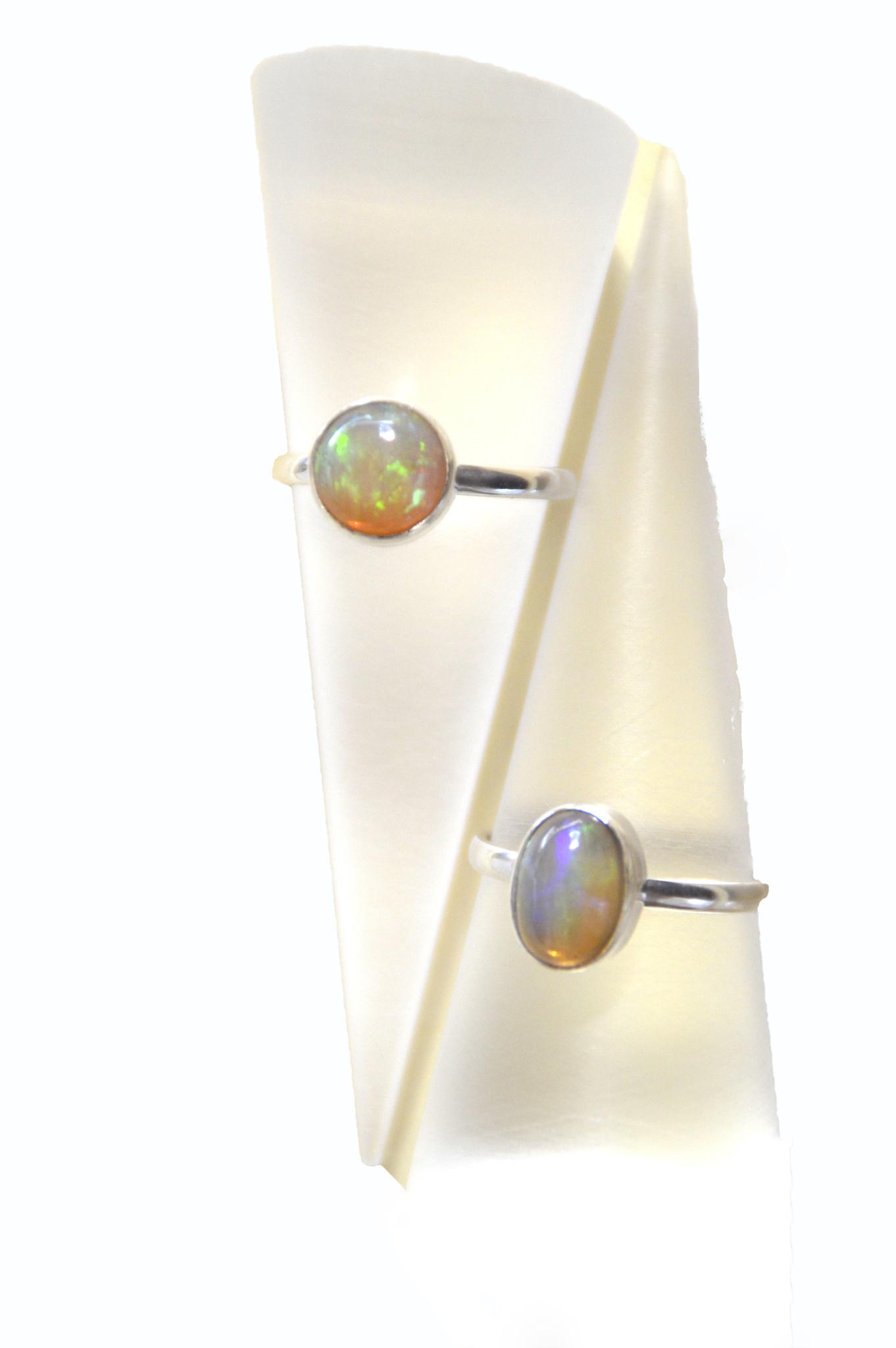 Opal Ring 925er Silber