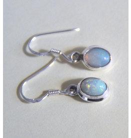 Opal Ohrhänger 925er Silber