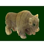 Bison Speckstein Peru 33 mm