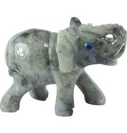 Elefant D Speckstein ca. 33 mm