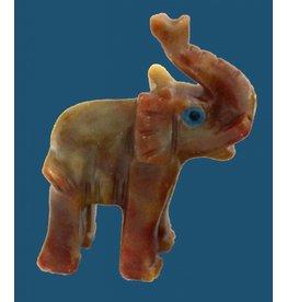 Elefant T Speckstein ca. 33 mm
