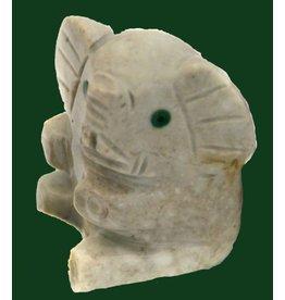 Elefantenbaby Speckstein ca. 33 mm