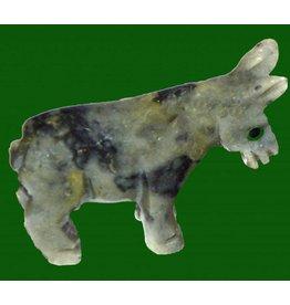 Esel Speckstein ca. 33 mm