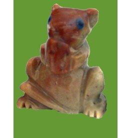 Hamster Speckstein ca. 33 mm