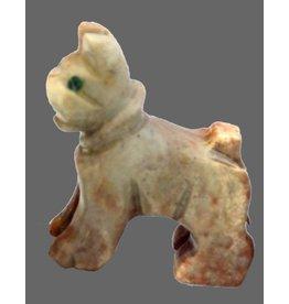 Hund/Boxer Speckstein ca. 33 mm