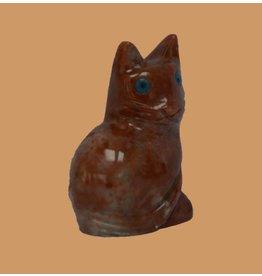 Katze sitzend Speckstein ca. 33 mm