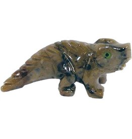 Leguan Speckstein ca. 33 mm