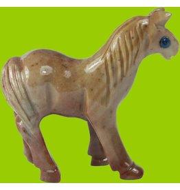 Pferd Speckstein ca. 33 mm