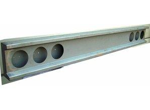 VTS bumper 6x ronde gaten voor oldskool gloeilamp