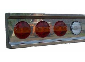 VTS bumper 6x ronde gaten RVS voor LED lampen