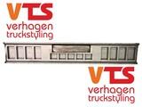 VTS bumper 8+5 gaten+kenteken uitsparing staal
