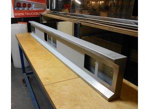 VTS lichtbalk 190cm Cabine achterzijde 7 vierkante gaten staal