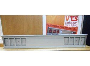 VTS Bumper 8x vierkante gaten staal