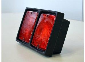 Hella lamp unit dubbel rood/rood