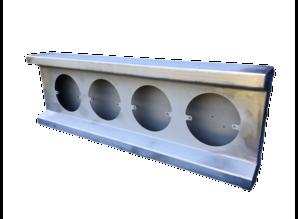 VTS bumper deel 4 gaats rond staal
