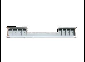 VTS bumper 8 gaats vierkant battery gap for scania