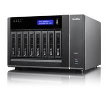 QNAP VS-8124 PRO i3-2120 Ethernet LAN Rack (2U) Zwart Opslagserver