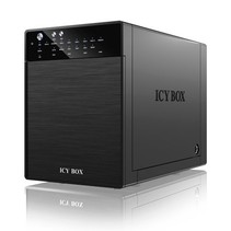 "ICY BOX IB-RD3640SU3 3.5"" Zwart"