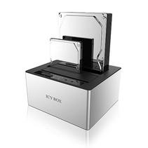ICY BOX IB-121CL-6G Zwart, Zilver
