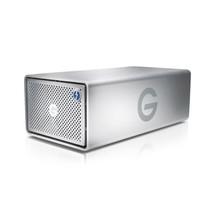 G-Technology G-RAID Thunderbolt 3 disk array 12 TB Zilver
