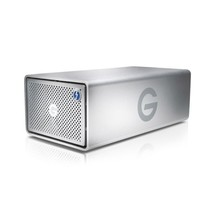 G-Technology G-RAID Thunderbolt 3 disk array 20 TB Zilver