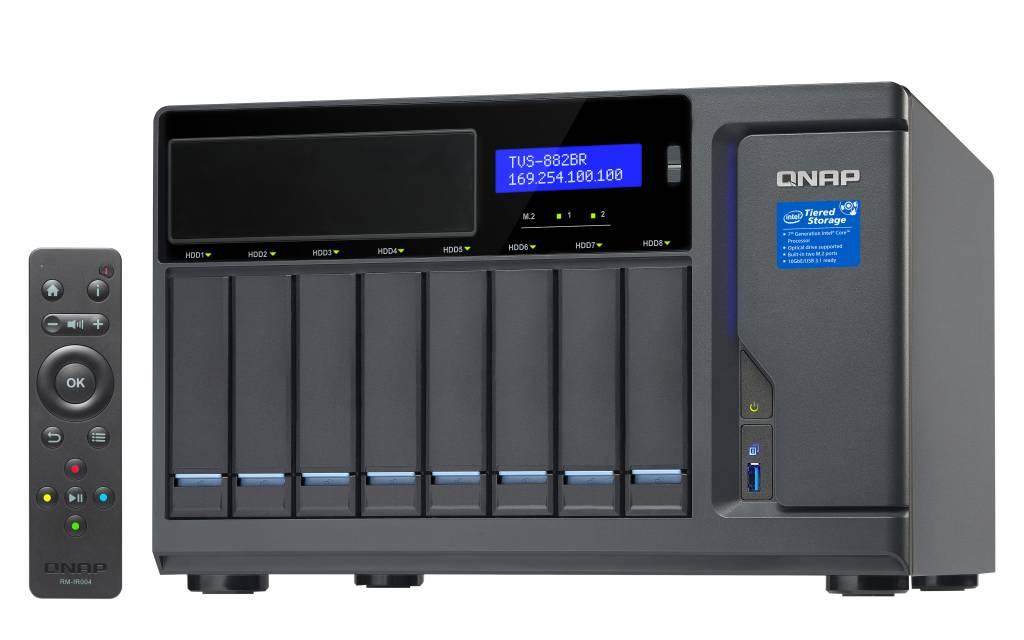 QNAP TVS-882BR-i5-16G