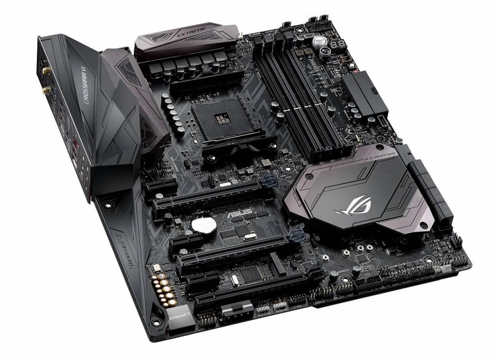 Asus ASUS ROG CROSSHAIR VI EXTREME AMD X370 Socket AM4 Verlengd ATX
