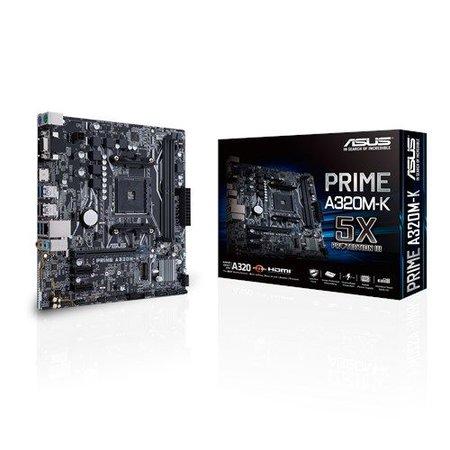 Asus ASUS MB PRIME A320M-K Socket AM4 micro ATX AMD A320