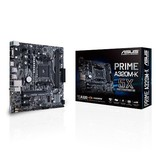 Asus ASUS MB PRIME A320M-K moederbord Socket AM4 Micro ATX AMD A320