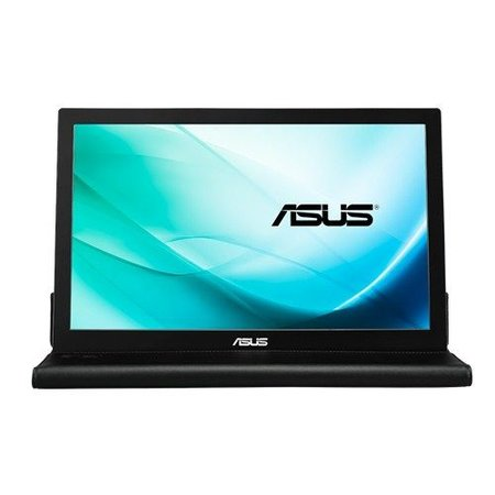 "Asus ASUS MB169B+ 39,6 cm (15.6"") 1920 x 1080 Pixels Full HD LED Zwart, Zilver"
