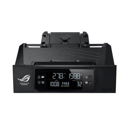 """Asus ASUS OC Panel snelheidsregelaar voor ventilator 4 kanalen Zwart 6,6 cm (2.6"""") LCM"""