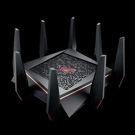 Asus ASUS ROG Rapture GT-AC5300 draadloze router Tri-band (2.4 GHz / 5 GHz / 5 GHz) Gigabit Ethernet Zwart