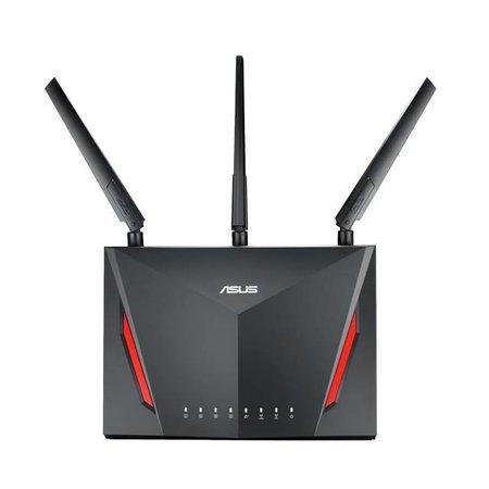 Asus ASUS RT-AC86U draadloze router Dual-band (2.4 GHz / 5 GHz) Gigabit Ethernet Zwart